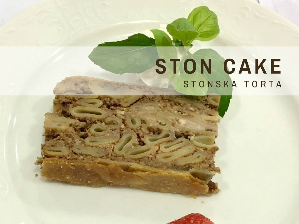 Croatian Recipes_STON CAKE