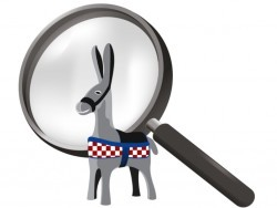 CtD_donkey + magnifying glass low res What to see in Croatia