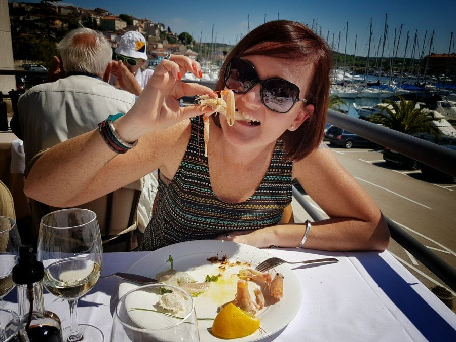 Istrian Food Seaood in Istria Croatia Travel Blog - 1