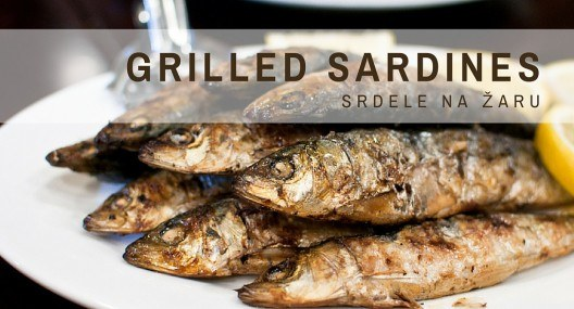 Croatian Cooking: Grilled Sardines {srdele na žaru}