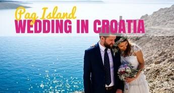 PAG ISLAND WEDDING IN CROATIA cover