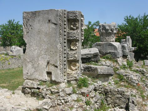 Things to do in Nin - Roman temple remains | Croatia Travel Blog