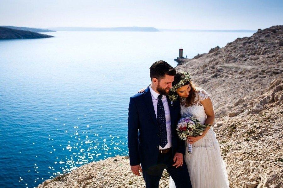 Wedding in Croatia Pag Island 2