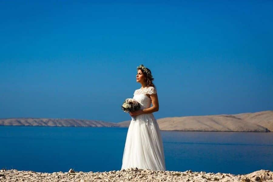 Wedding in Croatia Pag Island