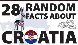 28 Randon facts About Croatia Infographic - Croatia Travel Blog
