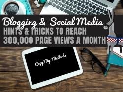 Blogging & Social Media Tips cover