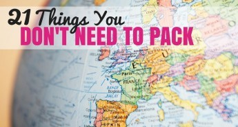 21 Things You Don't Need to Pack | Croatia Travel Blog