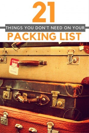 Things Not to Pack PIN | Croatia Travel Blog