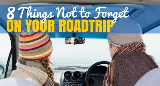 Things Not to Forget to Pack for a Road trip
