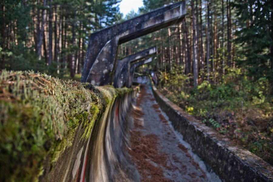 Things to do in Bosnia and Herzegovina | 1984-winter-olympic-bobsleigh-track-bosnia | Croatia Travel Blog