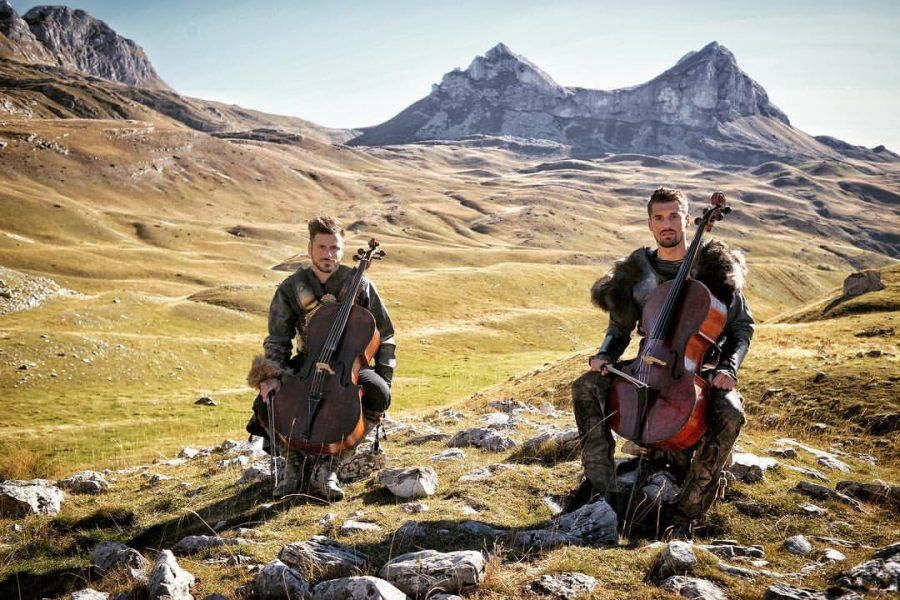 2Cellos in Montenegro   Montenegro Travel Blog