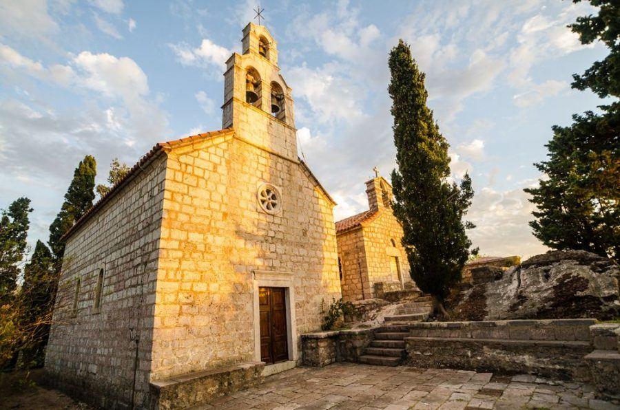 Chruch Sveti Stefan Montenegro | Montenegro Travel Blog