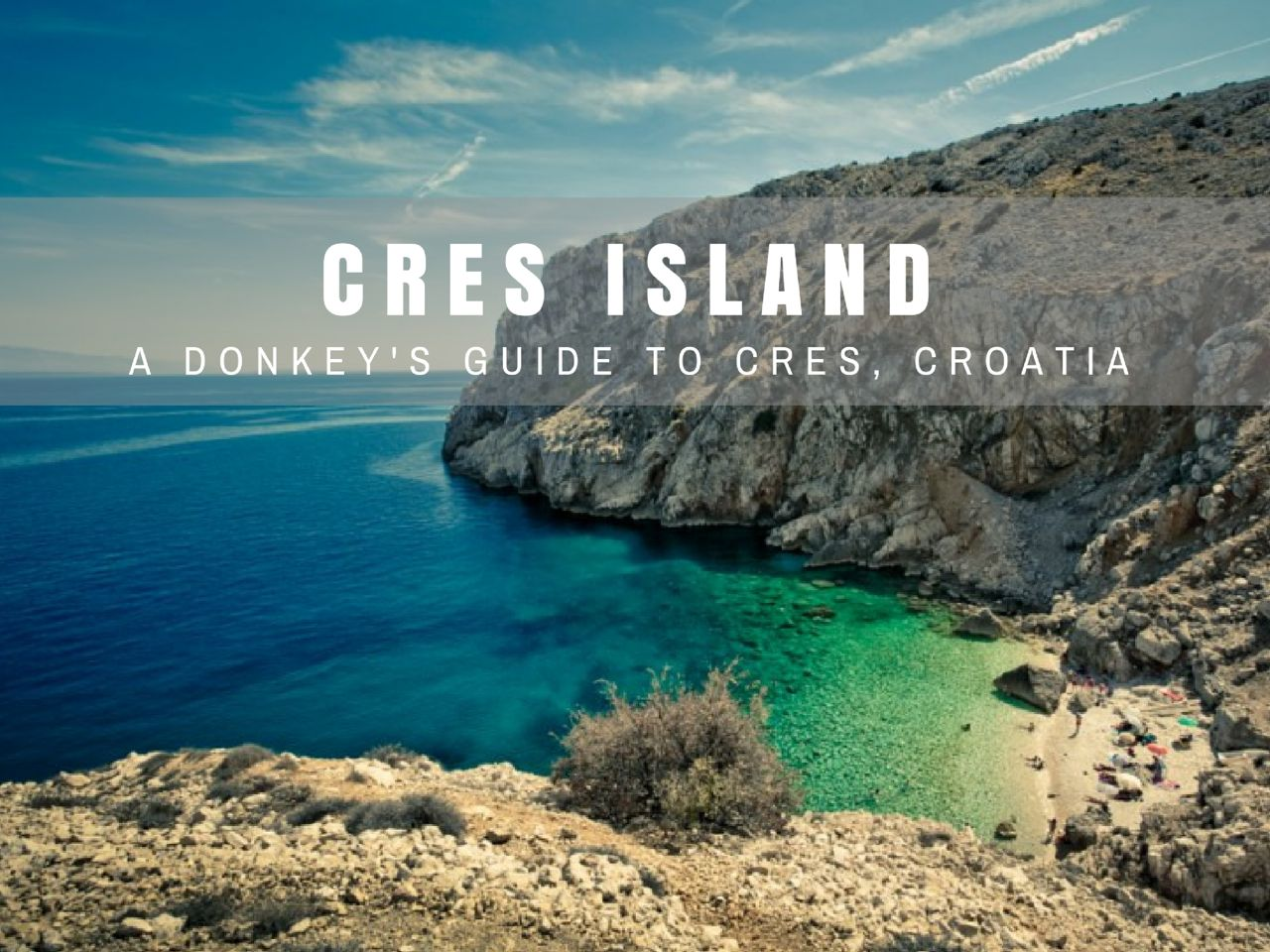 Things To Do On Cres Island Croatia Croatia Travel Blog