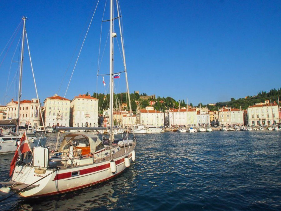 Things to do in Piran Slovenia | Boat in Piran | Slovenia Travel Bog