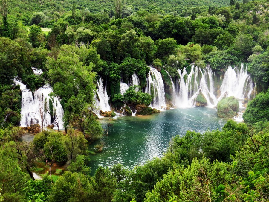 Things to do in Bosnia and Herzegovina | kravice-waterfalls-bosnia | Croatia Travel Blog