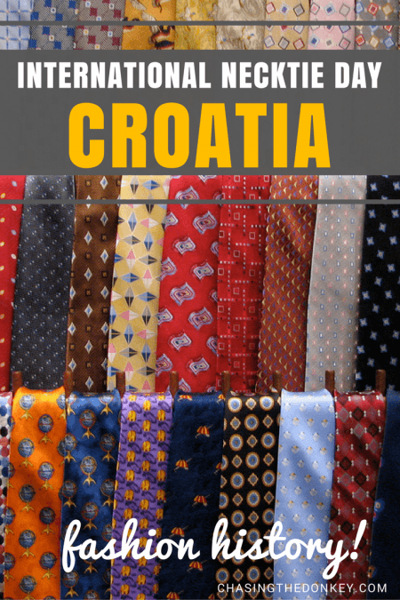 World Cravat Day Fun | Croatia Travel Blog