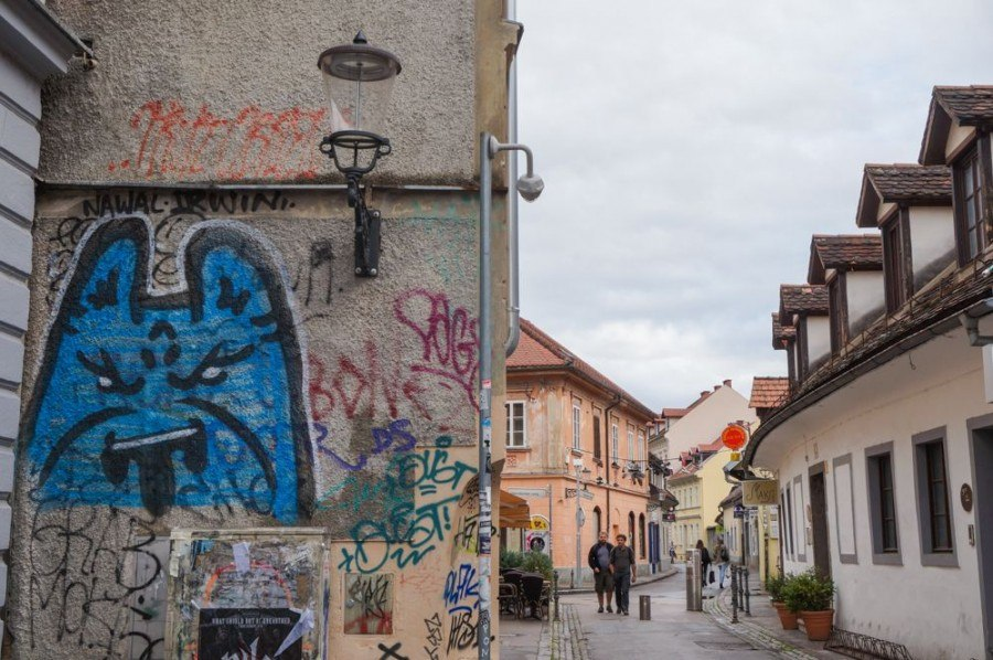 Things to do in Ljubljana | Graffiti in Ljubljana | Slovenia Travel Blog