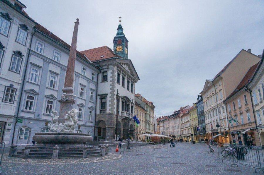 Things to do in Ljubljana   Ljubljana Town Hall   Slovenia Travel Blog