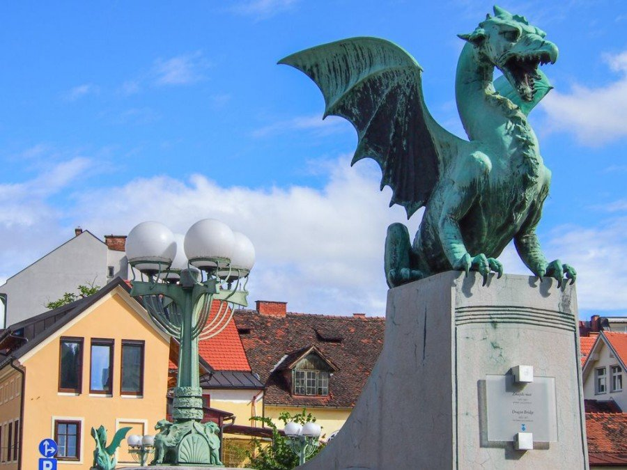 Ljubljana Attractions | The Dragon Bridge, Ljubljana | Slovenia Travel Blog