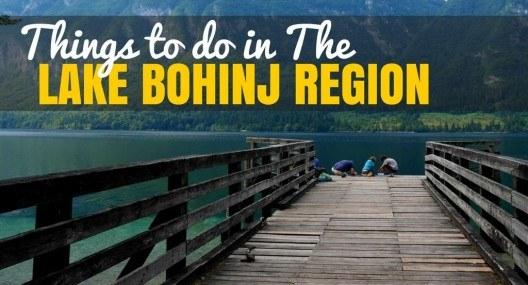 5 Things to do in The Lake Bohinj Region