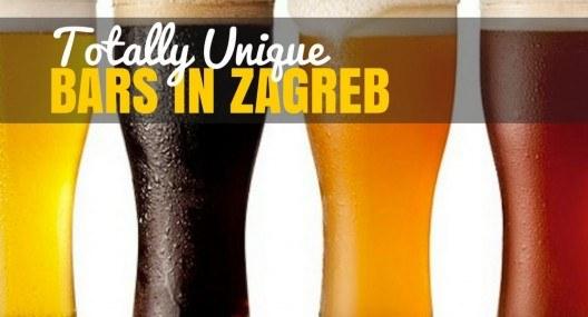 Unique Bars in Zagreb