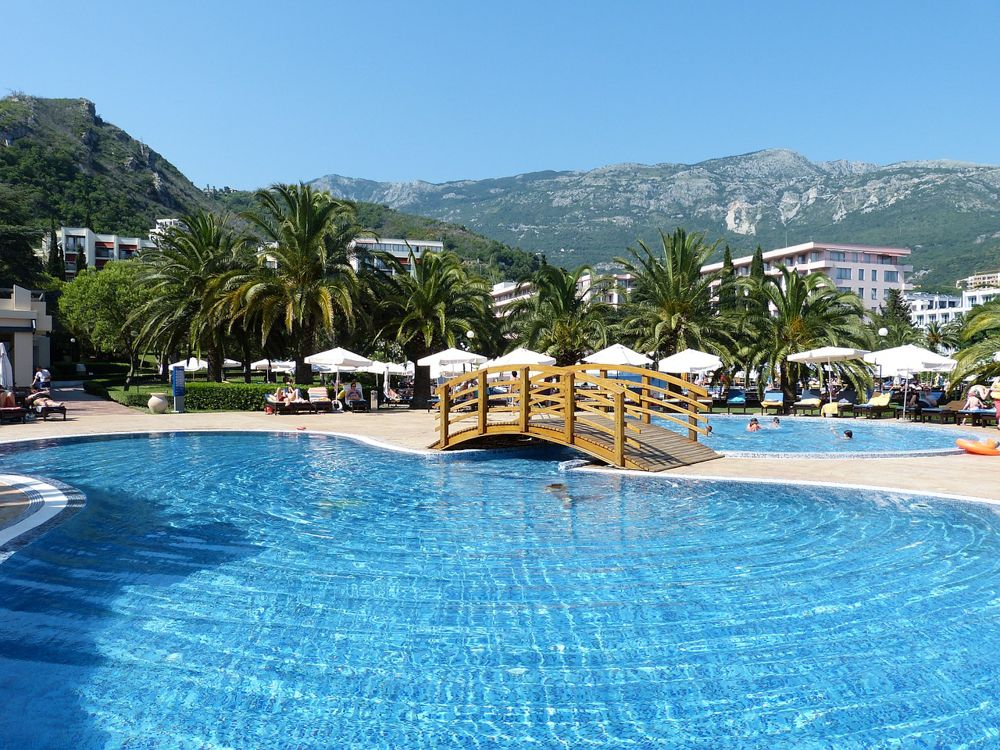 Budva Montenegro | Montenegro Travel Blog | Pool