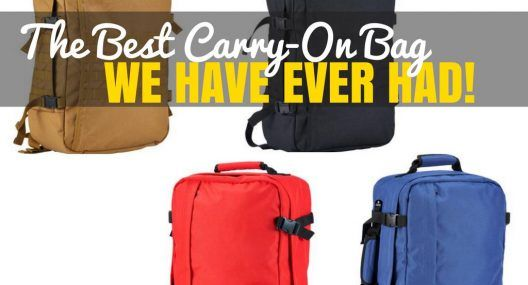 CabinZero: Lightweight Cabin Luggage Review