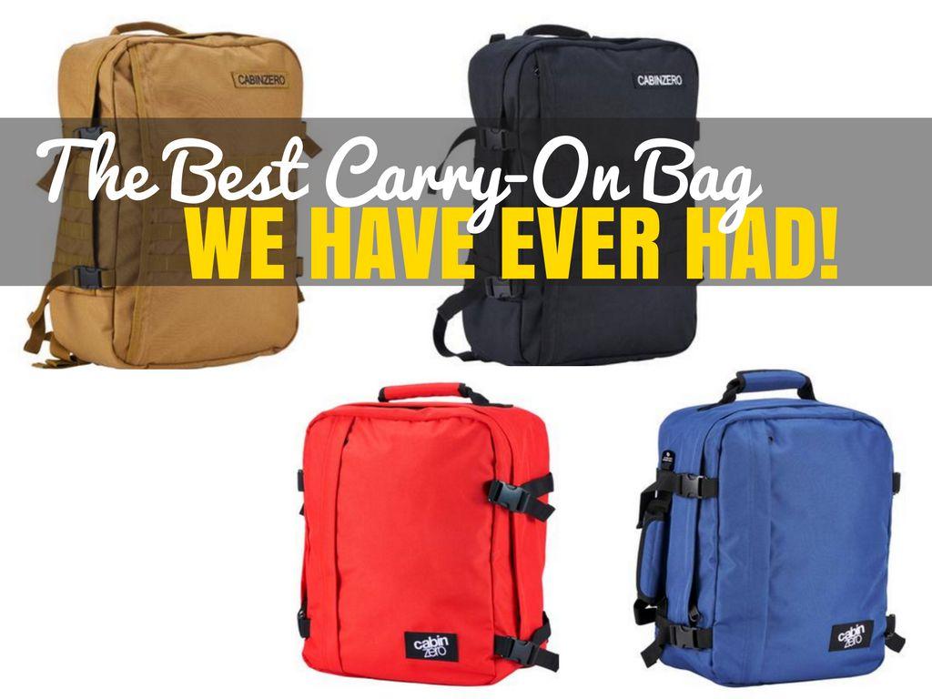 CabinZero: Lightweight Cabin Luggage Review   Croatia Travel Blog ...