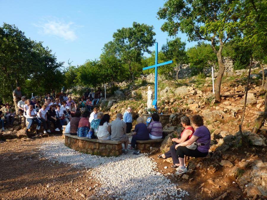 Bosnia-Herzegovina Travel Blog_Blue Cross in Medjugorje