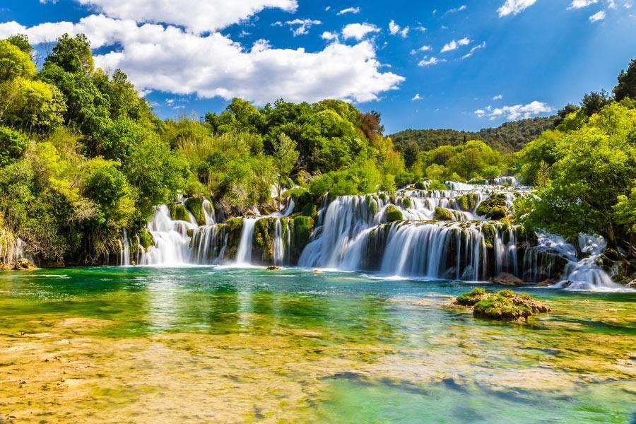 Things to do in the Balkans_Krka-Waterfall   Balkans Travel Blog