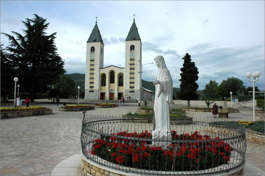Bosnia-Herzegovina Travel Blog_St. James' Church in Medjugorje