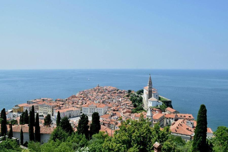 What to do in Slovenia_overlook-piran_Slovenia Travel Blog