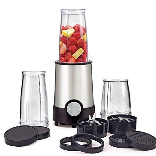 BEST TRAVEL BLENDERS REVIEW - BELLA 12 Piece Rocket Blender