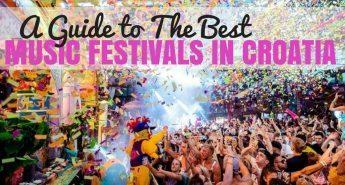 Best Music Festivals in Croatia COVER
