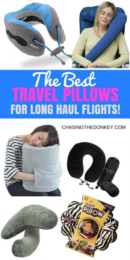 Best Travel Pillows for Long Haul Flights_Croatia Travel Blog_PIN