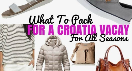 2017 Croatia Packing List: What to Pack For Croatia