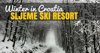 Things to do in Croatia_Winter Travel Sljeme Ski Resort_Croatia Travel Blog_COVER