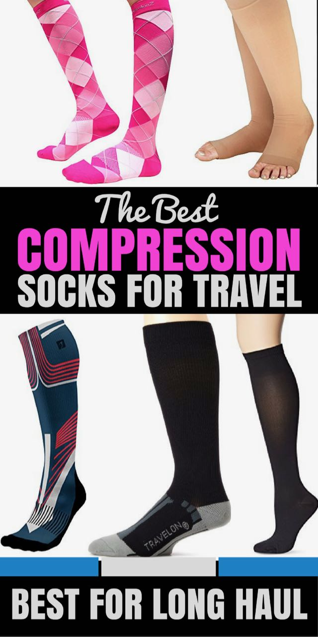 We've narrowed down the best compression socks for flying long haul to save you getting a dangerous DVT.