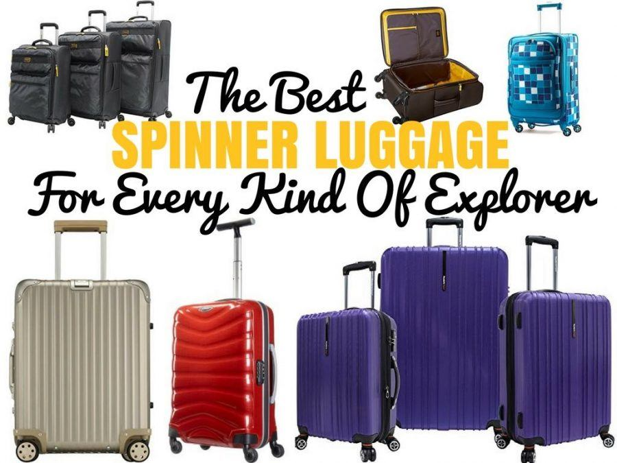 Best Spinner Luggage Reviews + Comparison Chart -Travel Product Reviews - Chasing the Donkey