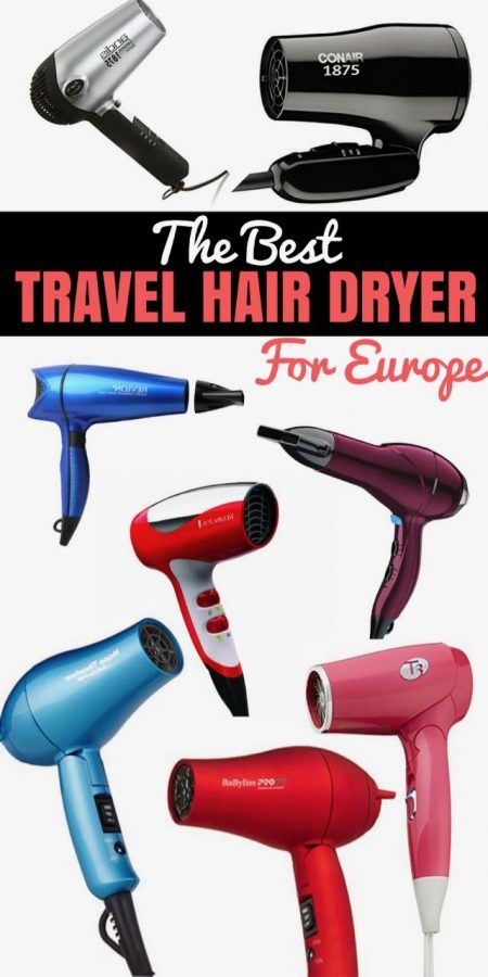 Best Travel Hair Dryer Best Blow Dryer Reviews - Travel Blogger