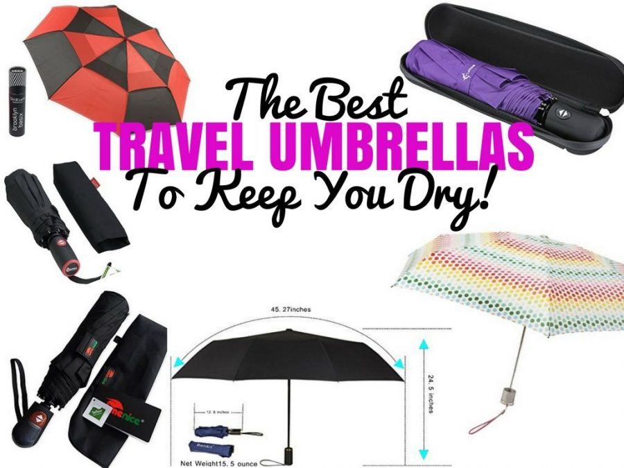 Best Travel Umbrellas Reviews + Guide - Travel Blog