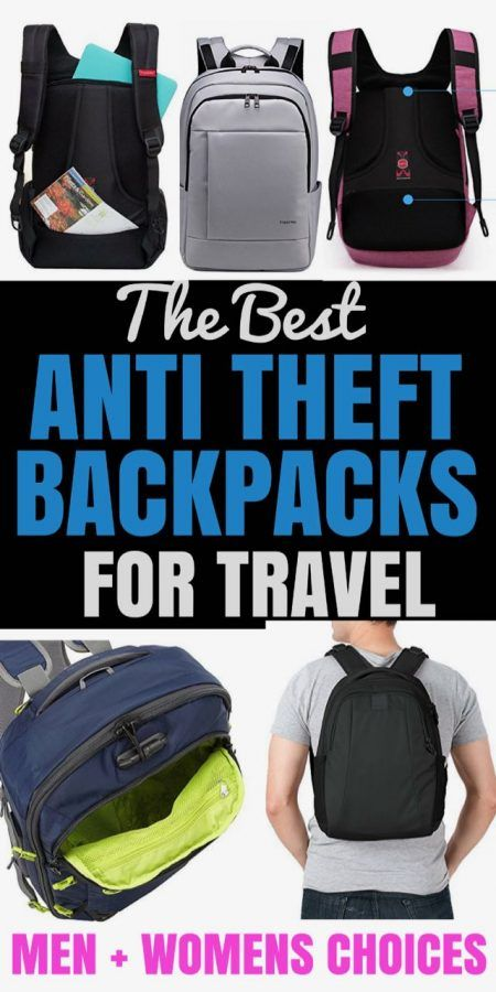 THE BEST ANTI THEFT BACKPACKS FOR TRAVEL - A TRAVEL REVIEW + COMPARISSON CHART