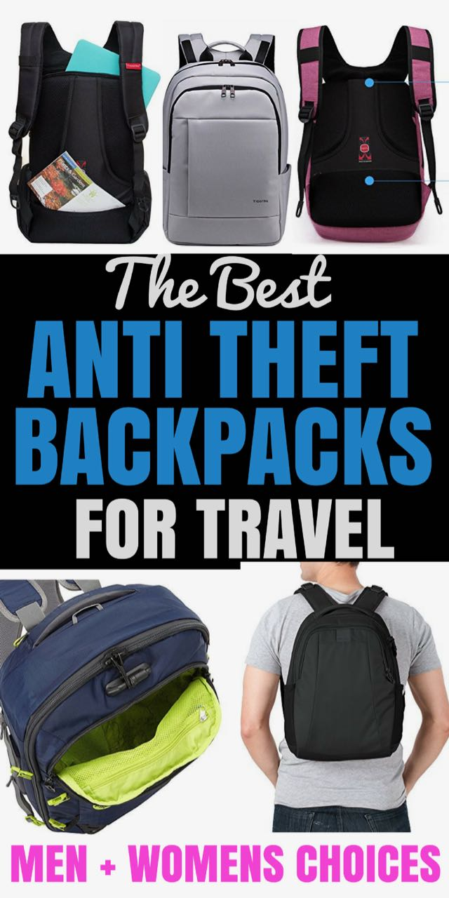 When you are off on your travels, one of the most important things to consider is safety. So, here is your guide to the best anti theft backpacks for travel. Plus five bonus travel safety tips.