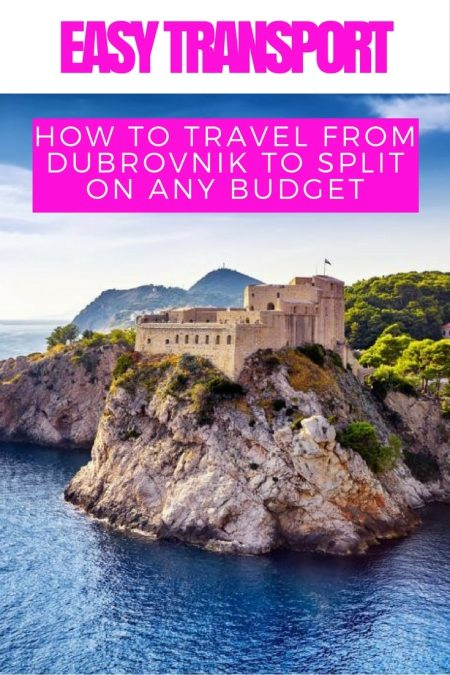 Things to do in Croatia_How to Travel From Dubrovnik to Split_Croatia Travel Blog