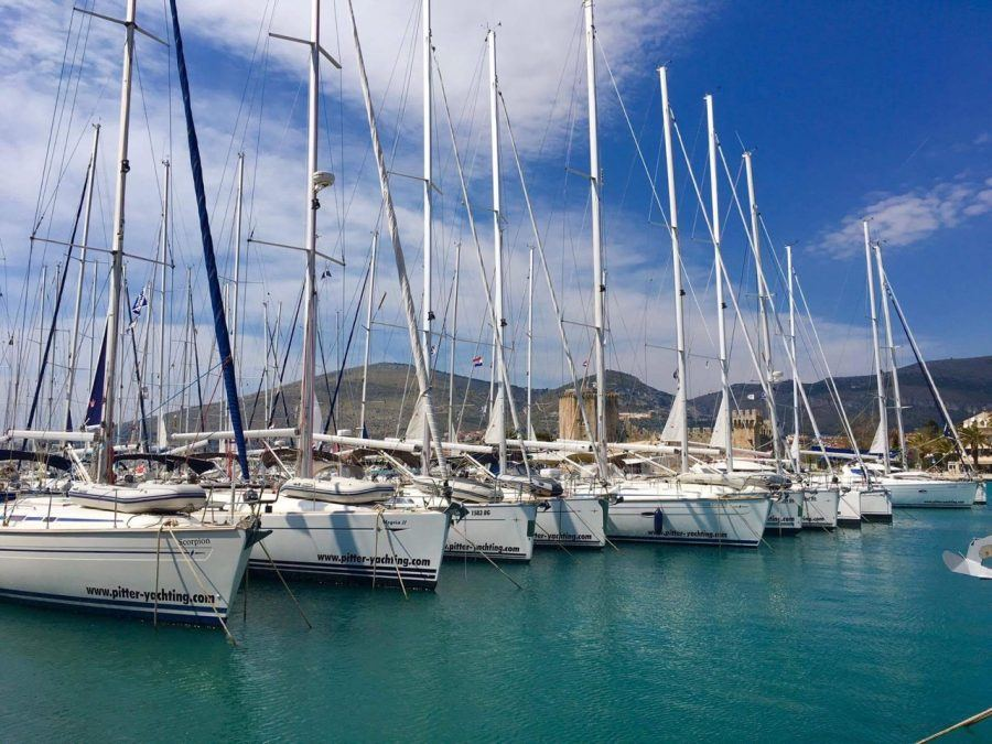 Things to do in Trogir Croatia Travel Blog - Marina