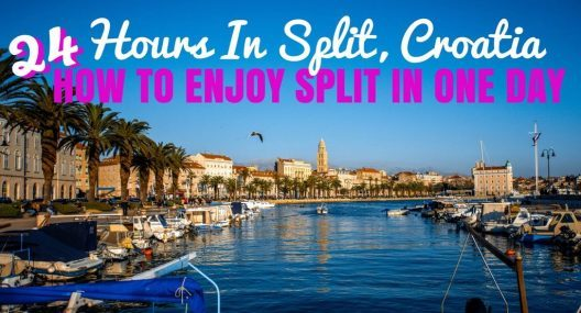 24 Hours In Split: How To Enjoy Split In One Day