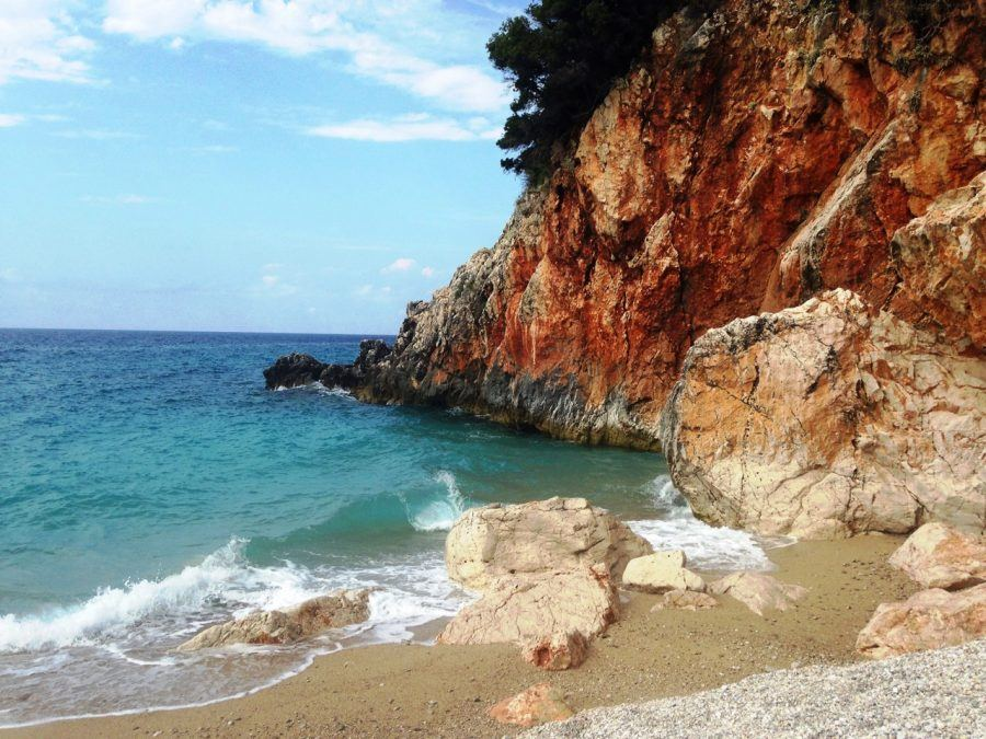 Best Beaches in Albania - Gijpe Beach - Albania Travel Blog