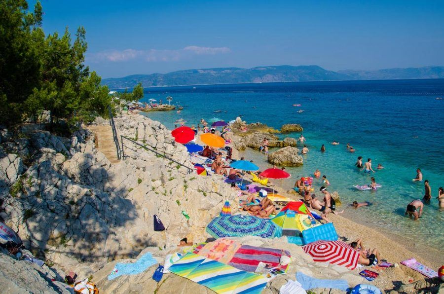 Croatia Travel Blog_Best Beaches in Istria_Girandella Beach