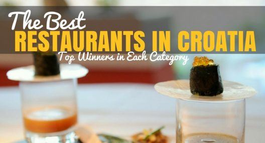 Best Restaurants in Croatia: 2017 Winners