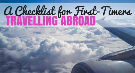 Things to do Before Traveling Abroad Checklist